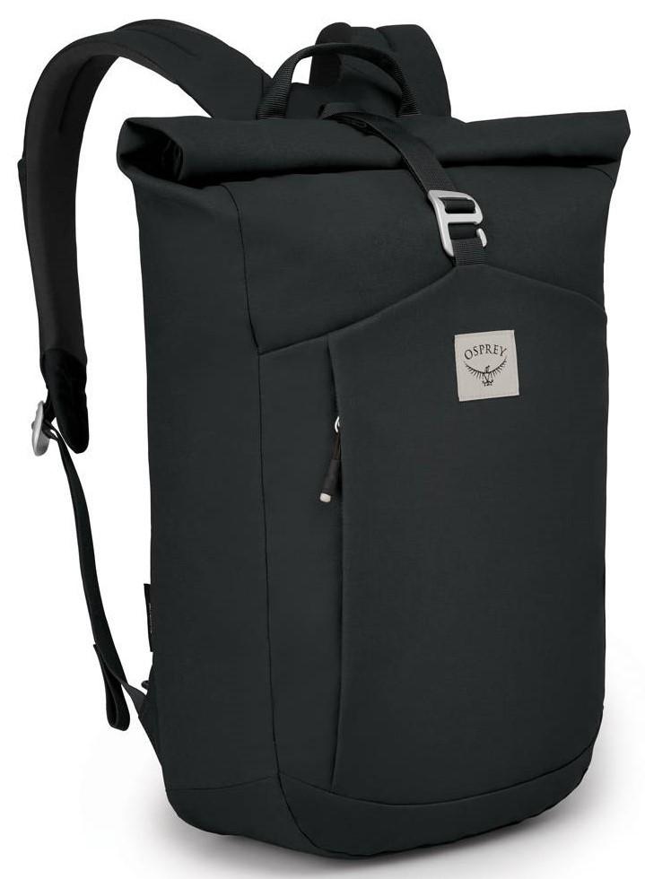 Городские рюкзаки Рюкзак Osprey Arcane Roll Top 22 Stonewash Black Arcane_Roll_Top_F20_Side_Black_web.jpg