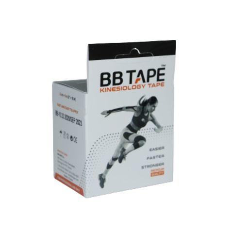BBtape кинезио тейп 5см х 5м (черный) NEW
