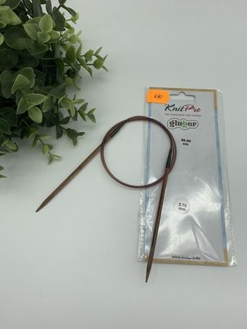 Спицы круговые KnitPro Ginger 80 см № 3.75