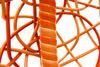Плетеные качели KVIMOL KM 0001 средняя корзина ORANGE