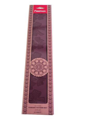 8464 FISSMAN Коврик для мастики текстурный 39x8 см,  купить