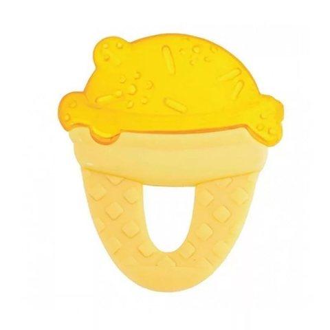 """Прорезыватель-игрушка Fresh Relax """"Мороженое"""",4мес.+ (желтое)"""