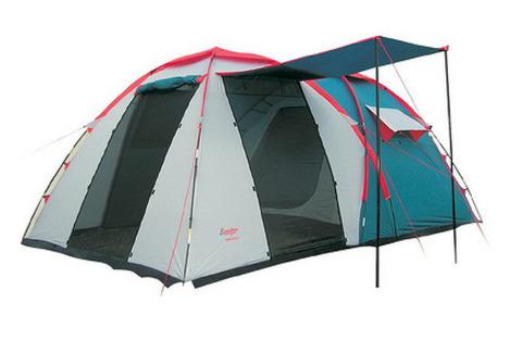 Палатка Canadian Camper GRAND CANYON 4, цвет royal, москитные сетки.