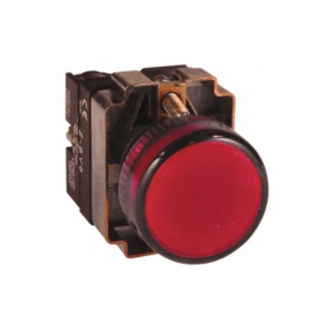 Лампа BV64 матрица d22 мм красныйTDM