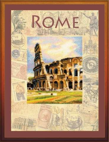 Набор для вышивания крестом «Города мира. Рим» (0026 РТ)