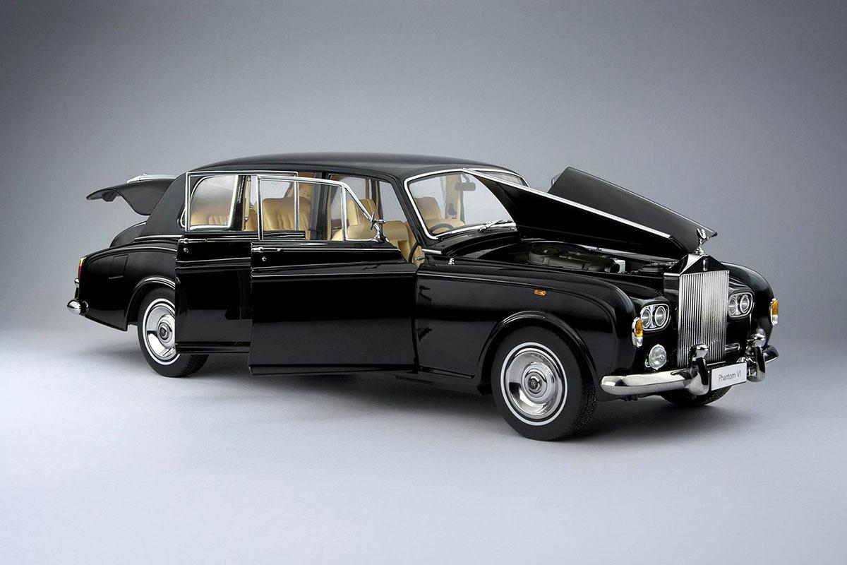 Коллекционная модель Rolls-Royce Phantom VI 1968 Black