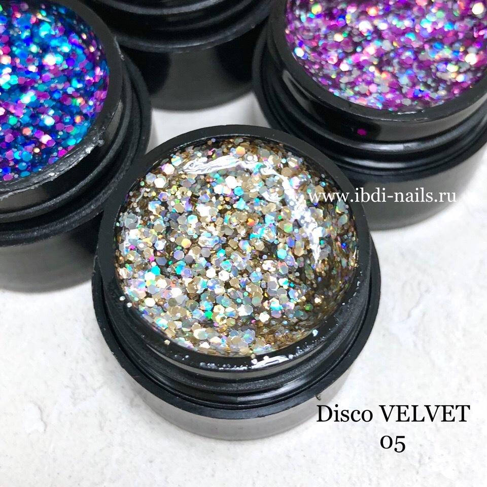 Гель-лак VELVET Disco Gel 05 5г