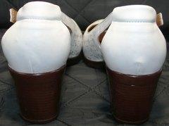 Женские босоножки из натуральной кожи Marani Magli 031 405 White.