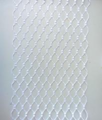 Вуаль вафельная, ширина 20 см., белый