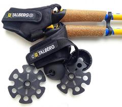 Палки для скандинавской ходьбы Talberg Nordica синие - 2