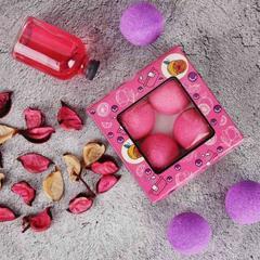 Набор подарочный: Соль шипучая для ванн SPA by Lara