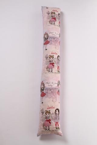 Комплект подушка + наволочка I-170 (лебяжий пух) 12345 розовый