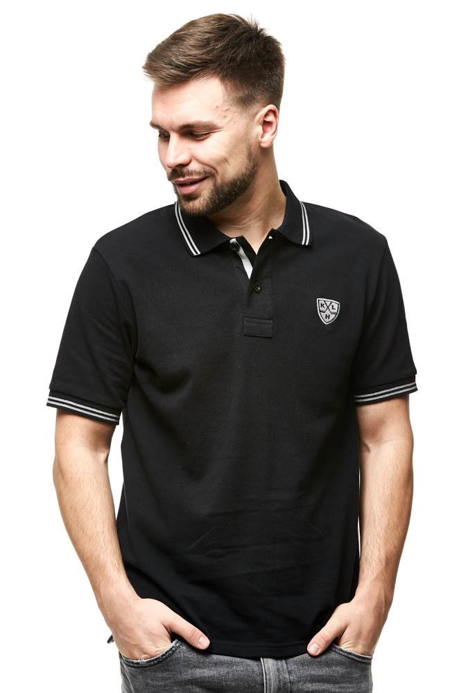 Рубашка-поло КХЛ черная