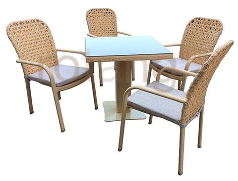 Стіл обідній Монако-1 зі склом