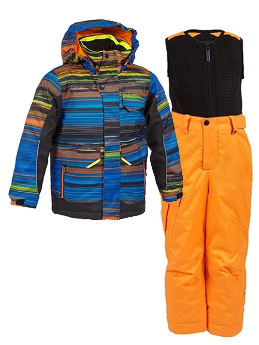 Костюм зимний для мальчика YURII K2501-BL285-A2/К25AB-OR016