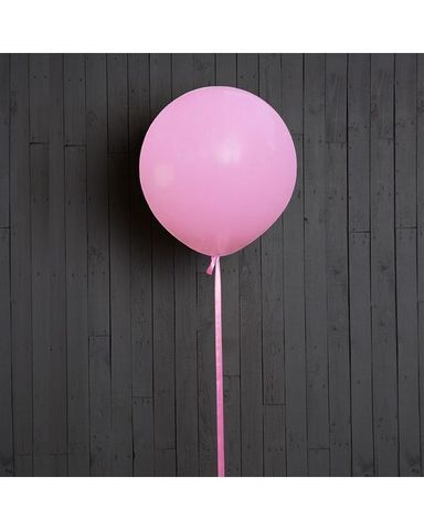 Шар гигант розовый