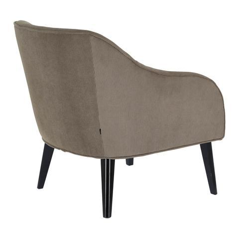 Кресло Lobby серый вельвет