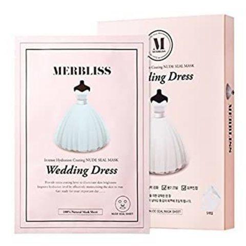 Merbliss Pearl Powder Wedding Dress Mask 5ea
