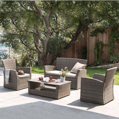 Комплект мебели  с диваном AFM-405G Brown