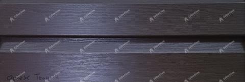 Акриловый сайдинг Альта Профиль Канада Плюс орех темный 3660х230 мм