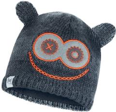 Шапка вязаная с флисом детская Buff Hat Knitted Polar Monster Jolly Black