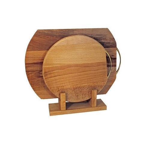 Набор деревянных досок разделочных 350x245мм/250мм - Хозяюшка