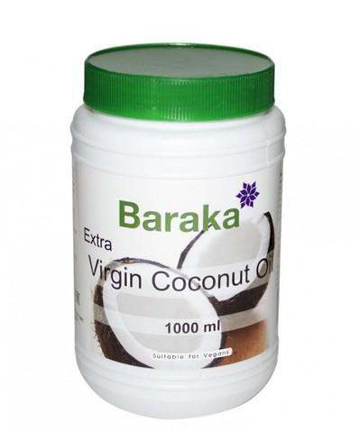 Кокос.масло Вирджин BARAKA нераф. 1000мл