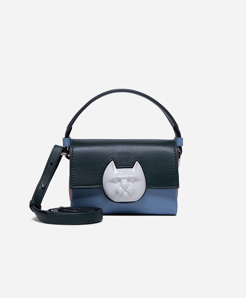 Сумка Flap Mini Cat Head Bag Multi