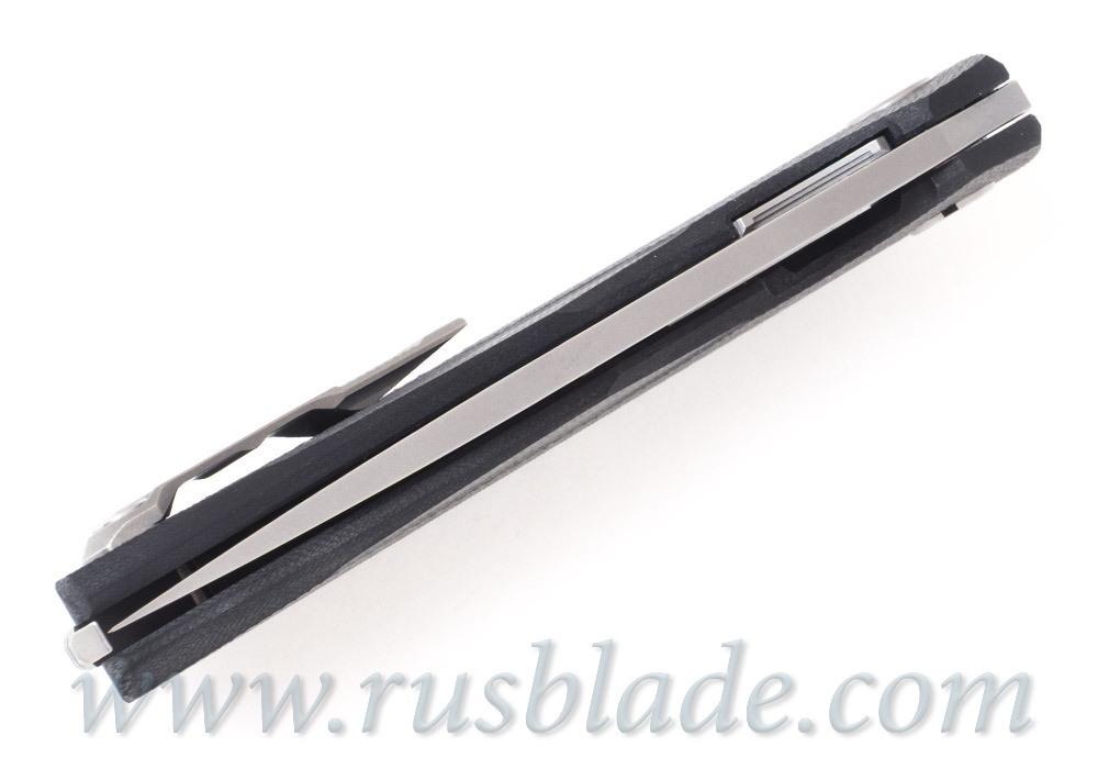 Shirogorov 111 Cronidur30 Groove G10 black 3D MRBS - фотография