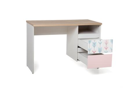 Стол LX 02 розовый-принт