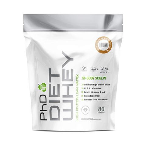 PhD Diet Whey, диетическая протеиновая смесь, вкус Шоколад/Арахис, 1 кг.