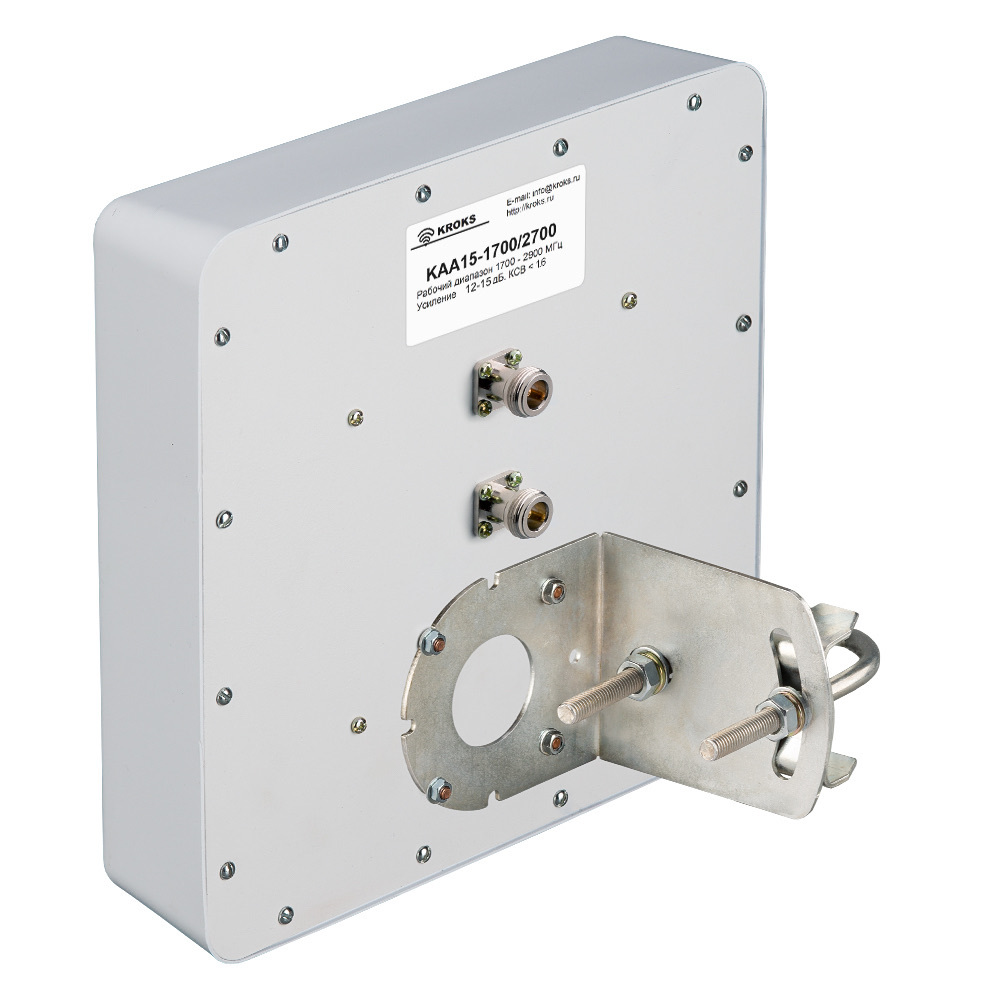 Широкополосная 3G/4G MIMO антенна 15 дБ KAA15-1700/2700
