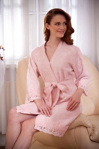 LISA ЛИСА женский махровый халат Maison Dor Турция