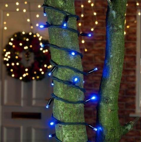 Уличные гирлянды нити оптом купить нить LED нити лэд синий цвет