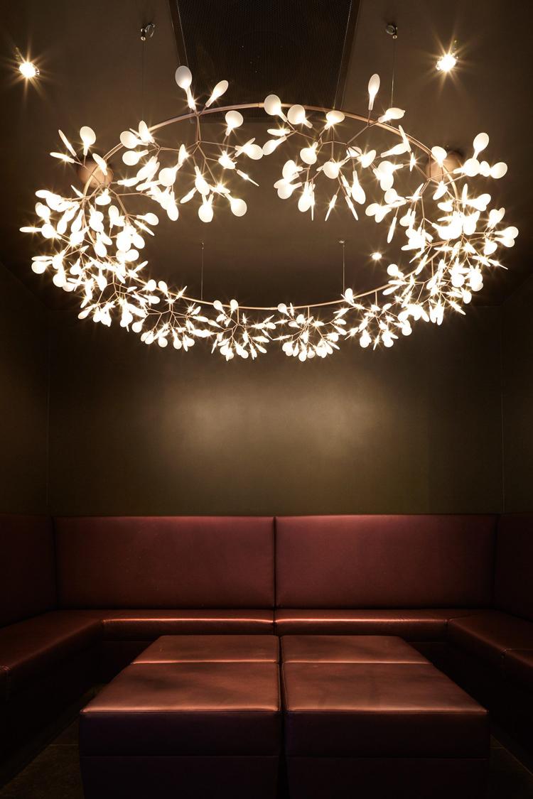 Подвесной светильник копия Heracleum  Endless by Moooi (медный)
