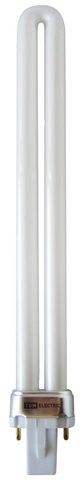 Лампа энергосберегающая КЛЛ-PS-9 Вт-6500 K-G23 TDM