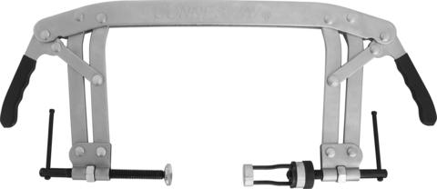 AI020025 Рассухариватель клапанов С-образный с насадками диаметром 16 и 25 мм, диапазон захвата 50-175 мм, глубина скобы 165 мм