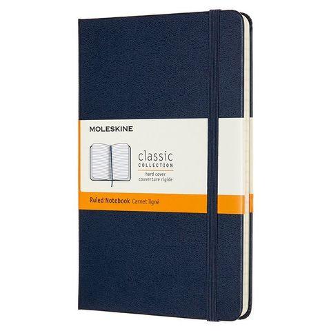 Блокнот Moleskine CLASSIC QP050B20 Medium 115x180мм 240стр. линейка твердая обложка синий