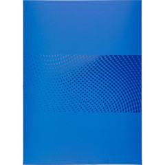 Папка уголок с клапаном Attache Digital, синий