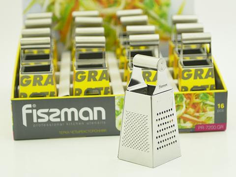 7200 FISSMAN Терка универсальная 4в1 15 см,  купить