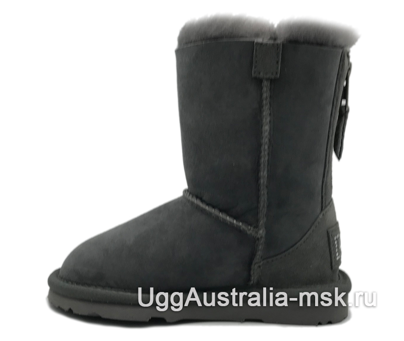 UGG Kids Zip Grey
