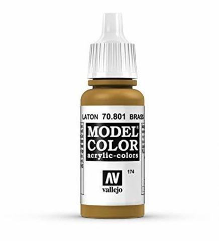 Model Color Brass 17 ml.