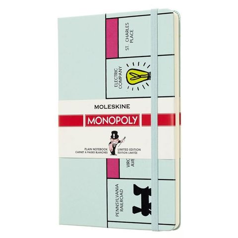 Блокнот Moleskine Limited Edition MONOPOLY LEMOQP062 Large 130х210мм 240стр. нелинованный Board