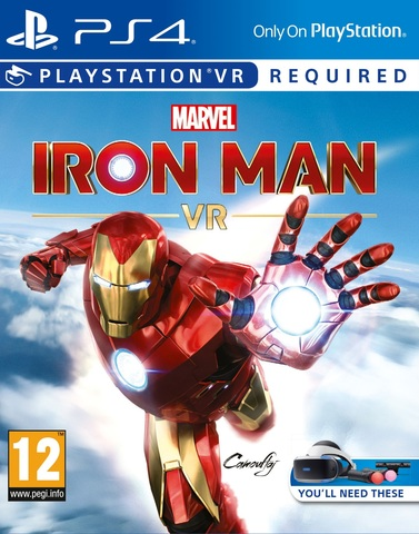 Marvel's Iron Man VR (PS4, поддержка VR, русская версия)