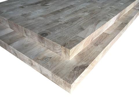 Мебельный щит из дуба ( сращенный с сучком ) 40 мм