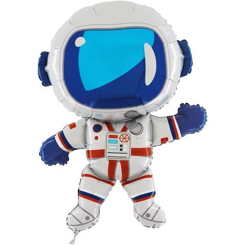 Воздушный шар фигура Космонавт, 97 см