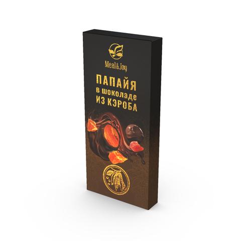 Папайя в шоколаде из кэроба, 60 г