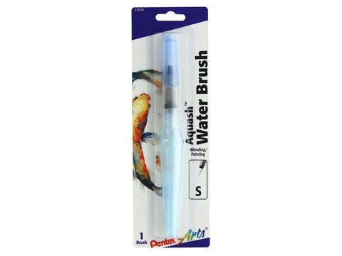Кисть с резервуаром для воды Pentel Arts Aquash Water Brush Fine Point Small