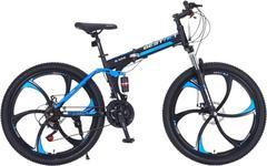Велосипед Gestalt G-555 литые диски Черно-синий