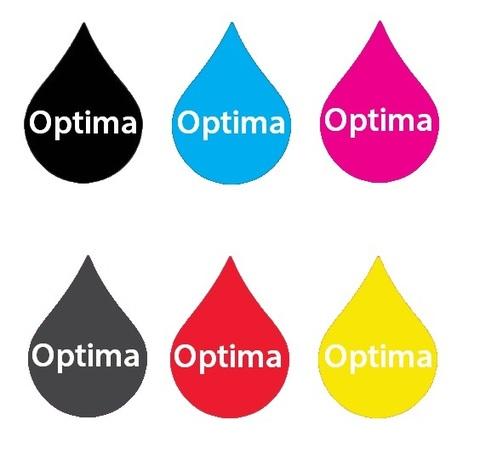 Комплект пигментных чернил Optima для Canon 6*250 мл